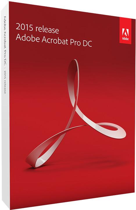 Adobe Acrobat Pro DC (12) CZ WIN Upgrade z verzí 10 a 11