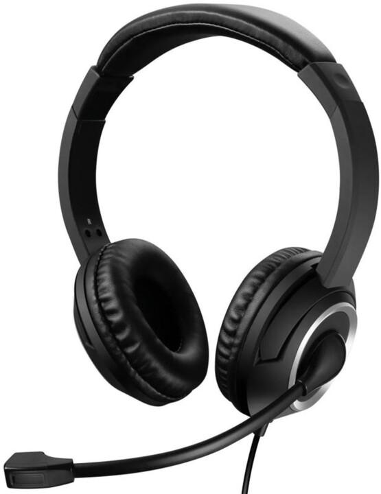 Sandberg MiniJack Chat Headset, černá