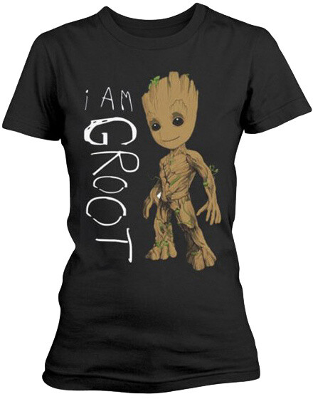 Tričko Guardians Of The Galaxy 2 - I Am Groot, dámské (XL)