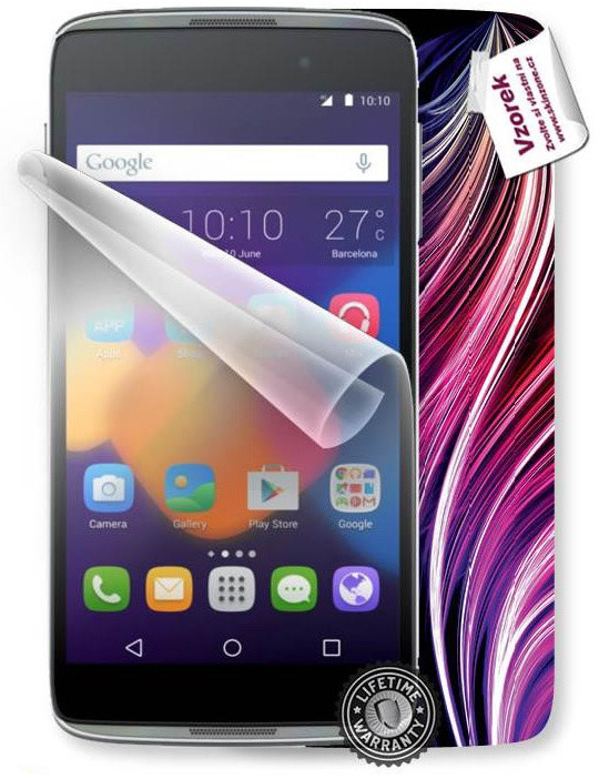 ScreenShield fólie na displej pro ALCATEL One Touch 6039Y Idol 3 + skin voucher