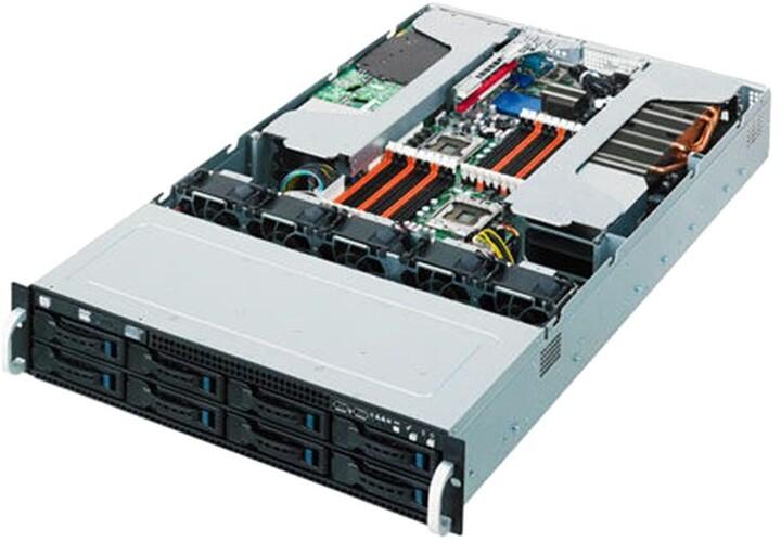 "ASUS ESC4000A-E10, 8GB RAM, 8x3,5""/2,5"" SATA/SAS/2xNVMe, 2200W, 2U"