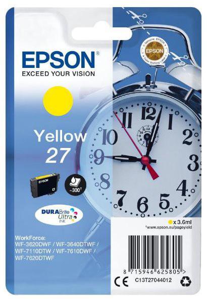 Epson C13T27044012, yellow