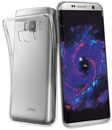 SBS Skinny pouzdro pro Samsung Galaxy S8, transparentní
