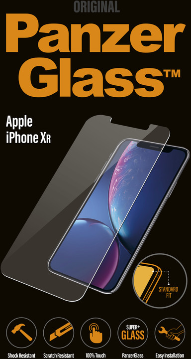 PanzerGlass Standard pro Apple iPhone Xr, čiré