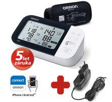 OMRON digitální tlakoměr M7 Intelli IT s AFib, na paži + síťový zdroj - 8595145021925