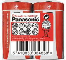 Panasonic baterie R20 2S D Red zn - 35049292