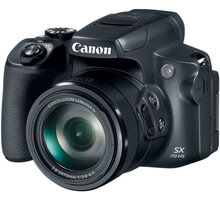 Canon PowerShot SX70 HS, černá O2 TV Sport Pack na 3 měsíce (max. 1x na objednávku)