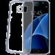 CELLY Laser - lemování s kovovým efektem TPU pouzdro pro Samsung Galaxy S7, černá