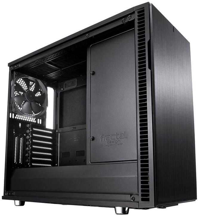 Fractal Design Define R6, okno, blackOut