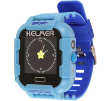 Helmer LK 708 dětské hodinky s GPS lokátorem s možností volání, vodotěsné, nárazuvzdorné, modré - LOKHEL1037