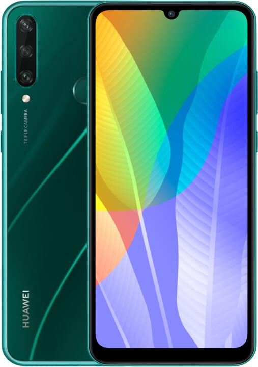 Huawei Y6p, 3GB/64GB, Emerald Green