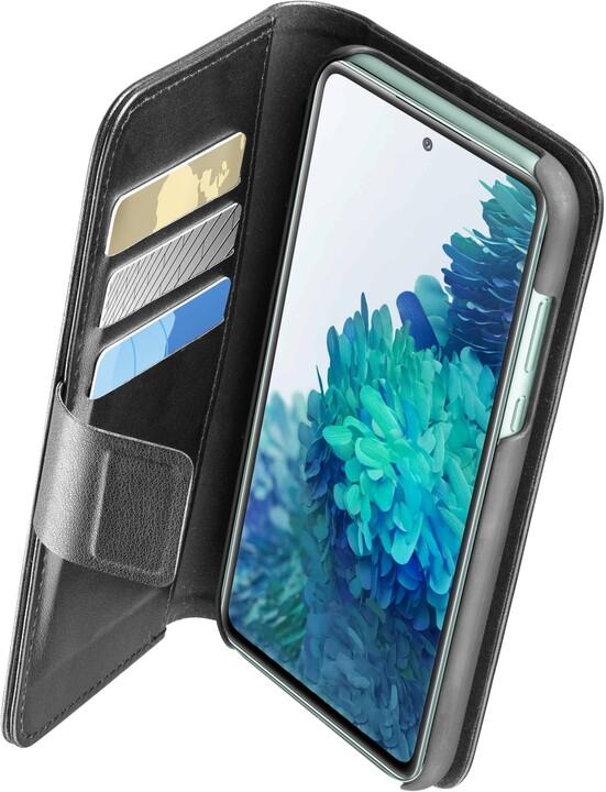 CellularLine flipové pouzdro Book Agenda 2 pro Samsung Galaxy S20 FE, černá