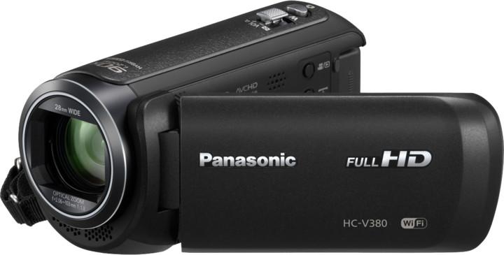 Panasonic HC-V380EP-K, černá
