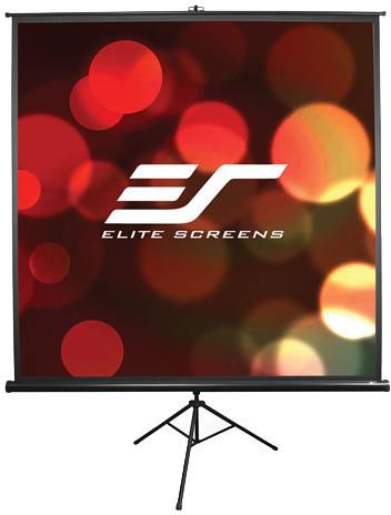 """Elite Screens výsuvné stativové plátno 113"""" (1:1)"""