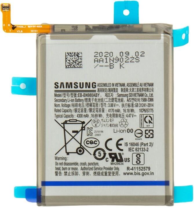 Samsung baterie EB-BN980ABY pro mobilní telefon Galaxy Note 20, 4300mAh, Li-Ion