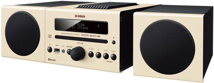 Yamaha MCR-B043, béžová