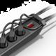 CyberPower Surge Buster, přepěťová ochrana, 5 zásuvky