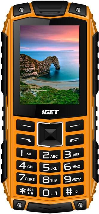 iGET Defender D10, oranžová