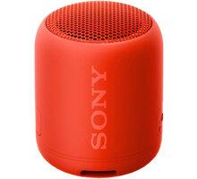 Sony SRS-XB12, červená  + Voucher na slevu 300 Kč na další nákup v hodnotě nad 3000 Kč (max. 1 ks, který získáte při objednávce nad 499 Kč)