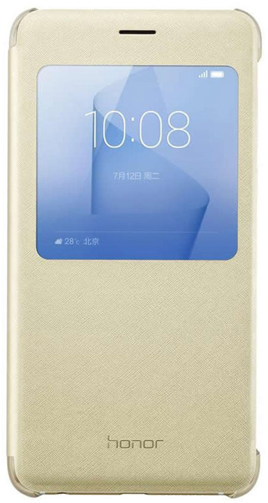 Honor 8 Smart Cover Case Gold