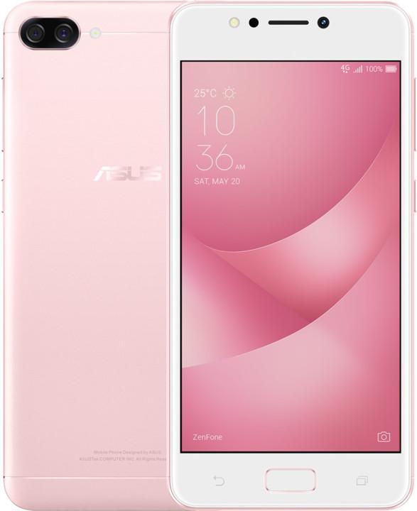 ASUS ZenFone 4 Max ZC520KL-4I010WW, růžová
