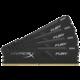 HyperX Fury Black 16GB (4x4GB) DDR4 2400, black