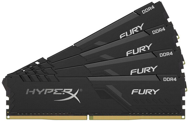 HyperX Fury Black 16GB (4x4GB) DDR4 3000