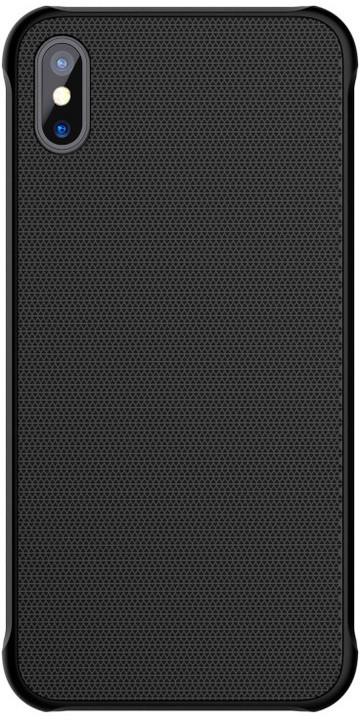 Nillkin Tempered Magnet zadní kryt pro iPhone X, Black
