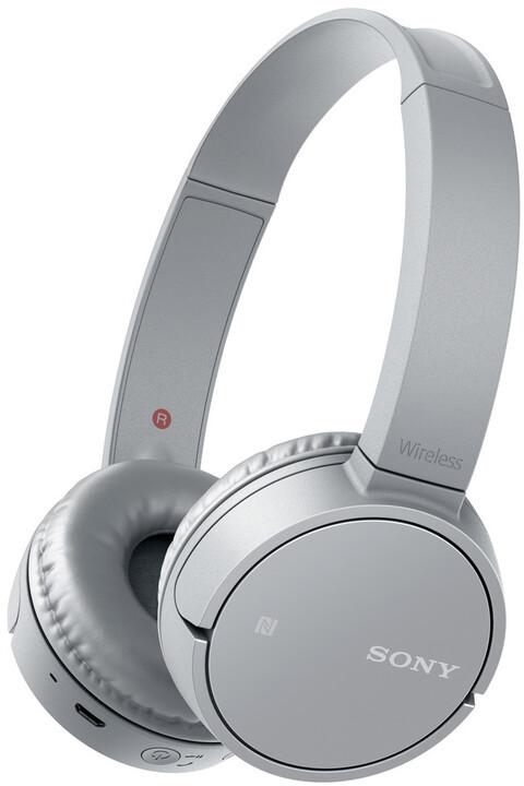 Sony WH-CH500, šedá