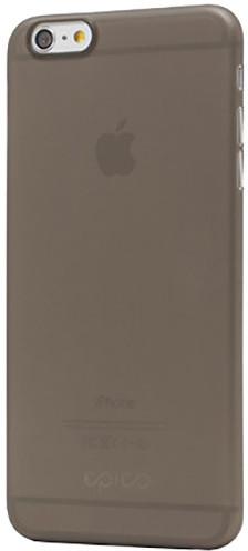 EPICO ultratenký plastový kryt pro iPhone 6/6S Plus EPICO TWIGGY MATT - černý transparentní