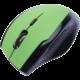 CONNECT IT bezdrátová optická myš V2, zelená