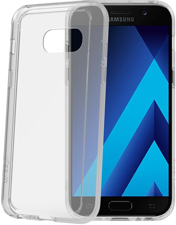CELLY Crystal Duo zadní ochranný kryt pro Samsung Galaxy A3 (2017), transparentní