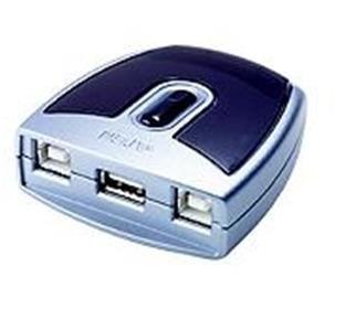 ATEN USB 2.0 Přepínač periferií 2:1