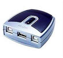 ATEN USB 2.0 Přepínač periferií 2:1 - ku2us221