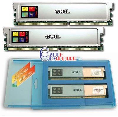 Geil DIMM 1024MB DDR 400MHz ULD Kit (GL1GB3200DC)