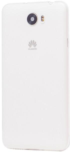 EPICO pružný plastový kryt pro Huawei Y5 II RONNY GLOSS - bílý transparentní