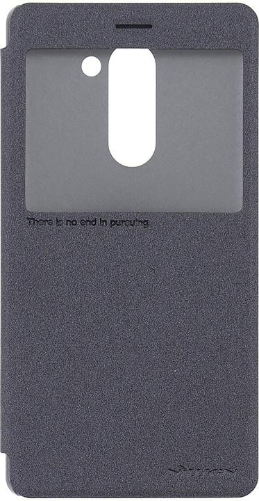 Nillkin Sparkle S-View pouzdro pro Honor 6X - černé