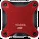 ADATA SD600 - 512GB, červený
