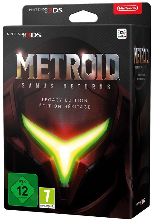 Metroid: Samus Returns - Legacy Edition (3DS)