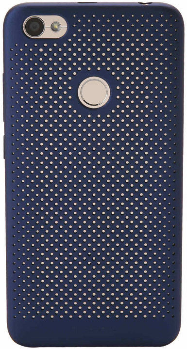 Xiaomi Perforated Case pro Redmi Note 5A Prime, fingerprint access, modrá