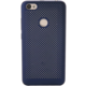 Xiaomi Redmi Note 5A Prime Perforated Casefingerprint accessblue