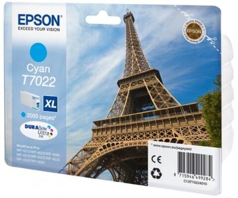 Epson C13T70224010, XL, Cyan