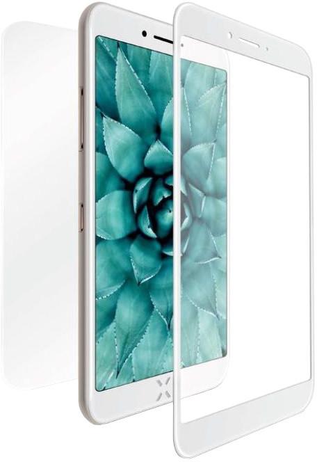 FIXED Set ochranných tvrzených skel pro přední a zadní stranu Apple iPhone 7/8, stříbrná