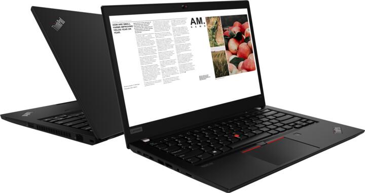 Lenovo ThinkPad T14 Gen 1, černá