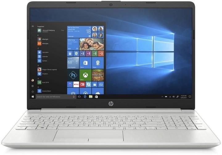 HP 15-dw2005nc, stříbrná