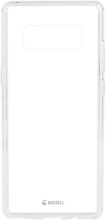 Krusell zadní kryt KIVIK pro Samsung Galaxy Note 8, transparentní