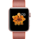 Apple Watch 2 42mm Rose Gold Aluminium Case with Orange/Anthracite Woven Nylon Band
