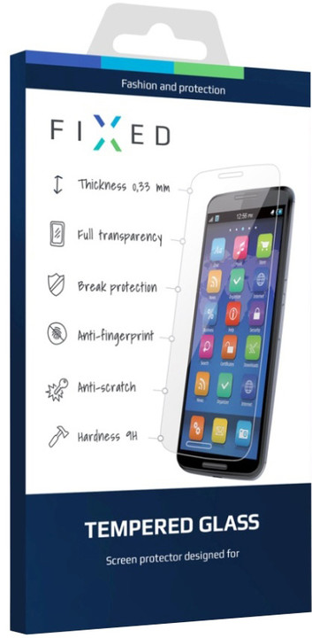 FIXED ochranné tvrzené sklo pro Lenovo Vibe C