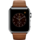 Apple Watch 2 38mm Stainless Steel Case with Saddle Brown Classic Buckle