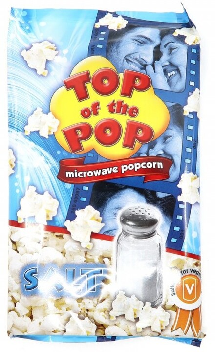 Top of the Pop popcorn slaný 100 g
